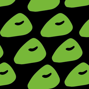 Abstract Green shape