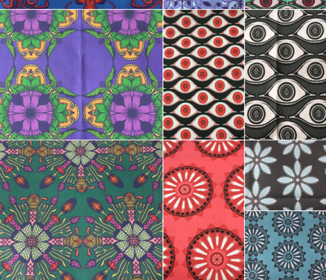 Organic Tiles 4