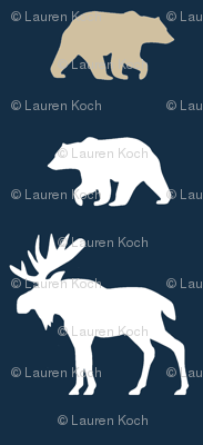 Moose & Bears // on Navy