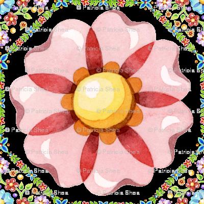 Pink Daisy Boho
