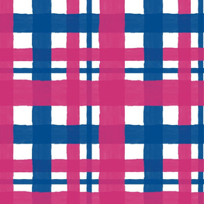 Pink_Yarrow_and_Lapis_Blue_Plaid
