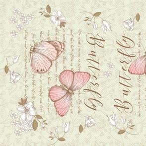 TeaTowel - Butterfly
