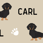 custom pet name fabric