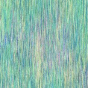 AURORA BOREALIS TEXTILE FIBER ART INSPIRED AQUA  CYAN BLUE GREEN