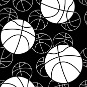 basketball monochromatic
