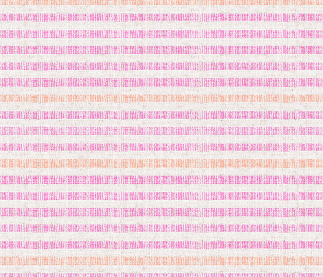 FRENCH_LINEN_PINK_CANDY_STRIPE fabric by holli_zollinger on Spoonflower - custom fabric