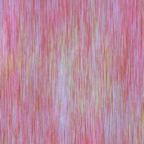AURORA BOREALIS TEXTILE FIBER ART PINK MORNING SUNRISE