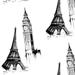 eiffel_tower_and_big_ben_fabric_one_way