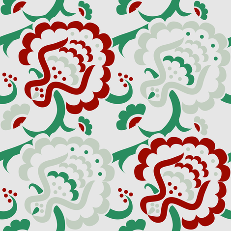 BoldSeed-Mascot fabric by happyhappymeowmeow on Spoonflower - custom fabric