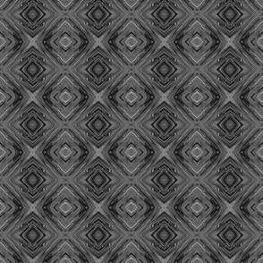 LDG - Liquid Dark Grey Diamond Brocade