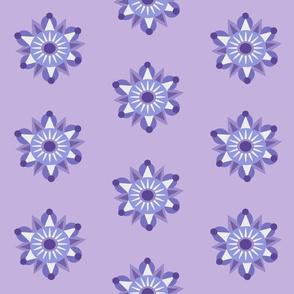 lilac mandala