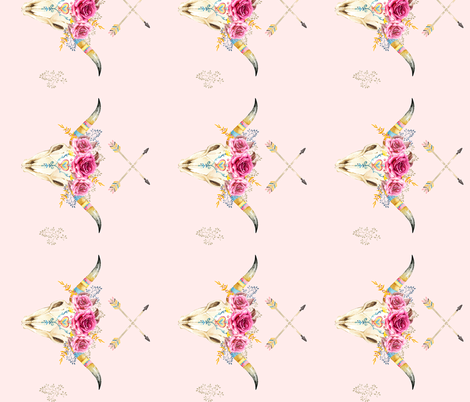 Stay Wild - Pink - 90 degrees fabric by shopcabin on Spoonflower - custom fabric