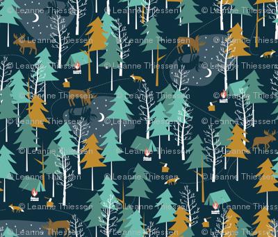 Moonlight, small scale - WINTER CAMPING ALTERNATIVE