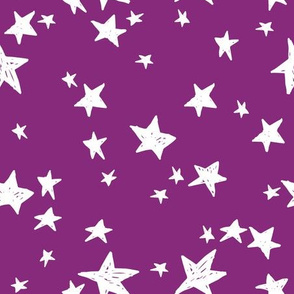 stars // wild purple star fabric nursery baby girls design star design by andrea lauren