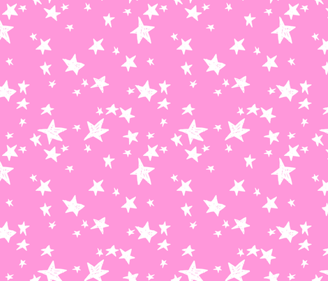 stars // bright star fabric nursery baby bright pastel fabric andrea lauren design fabric by andrea_lauren on Spoonflower - custom fabric