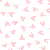 Little Love Hearts (peach)