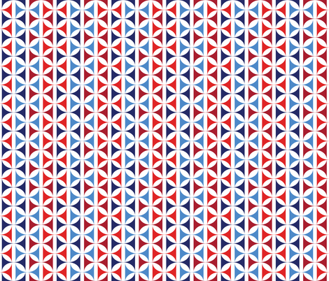 Hourglass_Patriotic fabric by alchemiedesign on Spoonflower - custom fabric