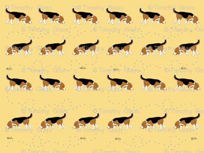 Official Sleeptown Beagles Design Yellow