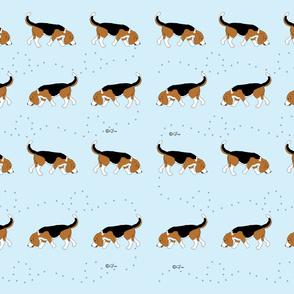 Official Sleepytown Beagles Deisgn Blue