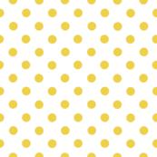 golden dots on white
