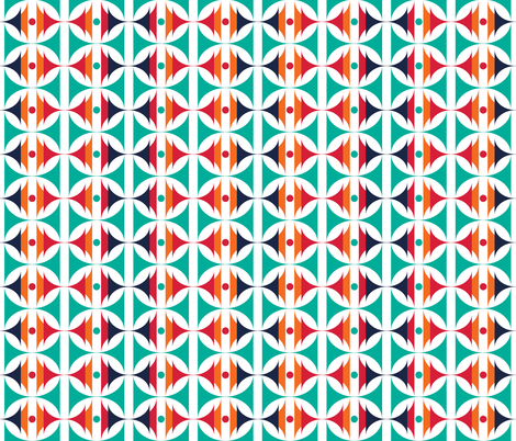 Doubletime_3 fabric by alchemiedesign on Spoonflower - custom fabric
