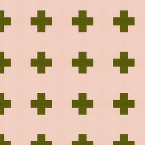 olive cross texture
