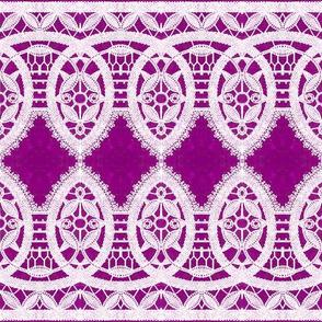 Purple & Lace - Medium