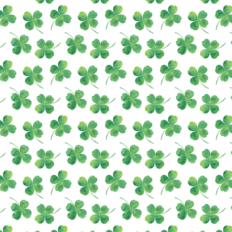 "3/4"" small scale - shamrock toss 