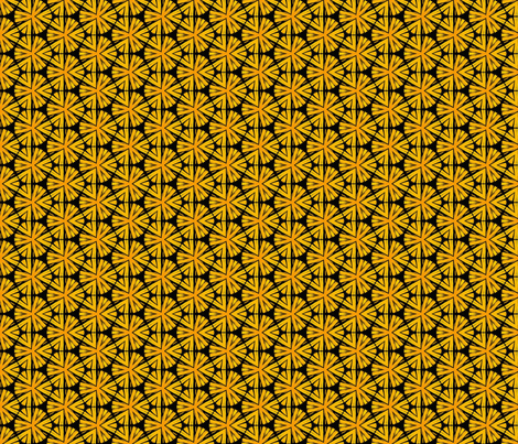 Pom Pom flowers fabric by hollywood_royalty on Spoonflower - custom fabric