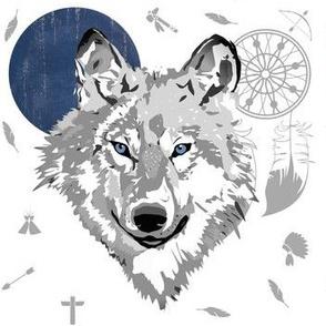 Boys Boho Wolf