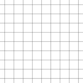 """granite grey windowpane grid 2"""" square check graph paper"""