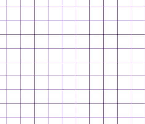 "amethyst windowpane grid 2"" square check graph paper fabric by misstiina on Spoonflower - custom fabric"
