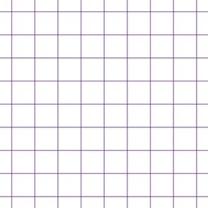 amethyst windowpane grid 2""