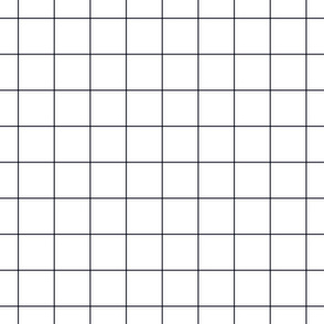 "midnight blue windowpane grid 2"" square check graph paper"