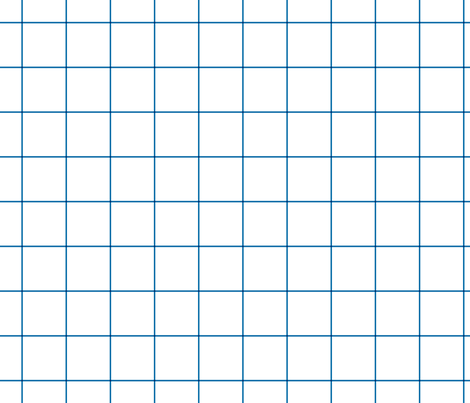 "royal blue windowpane grid 2"" square check graph paper fabric by misstiina on Spoonflower - custom fabric"