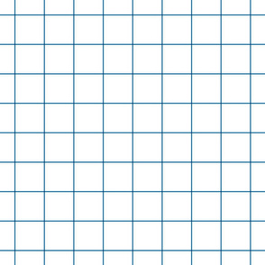 "royal blue windowpane grid 2"" square check graph paper"
