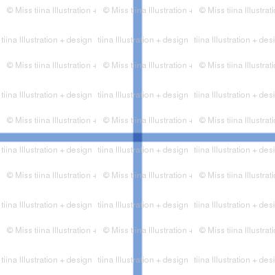 "cornflower blue windowpane grid 2"""