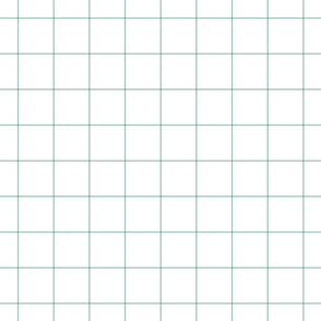 "faded teal windowpane grid 2"" square check graph paper"
