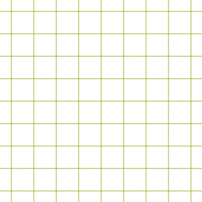 lime green windowpane grid 2""