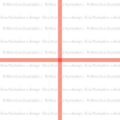 """peach windowpane grid 2"""" square check graph paper"""