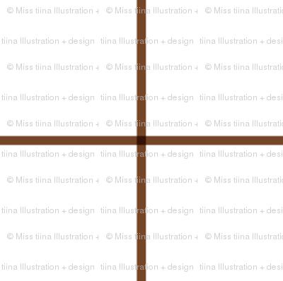 "chocolate brown windowpane grid 2"" square check graph paper"