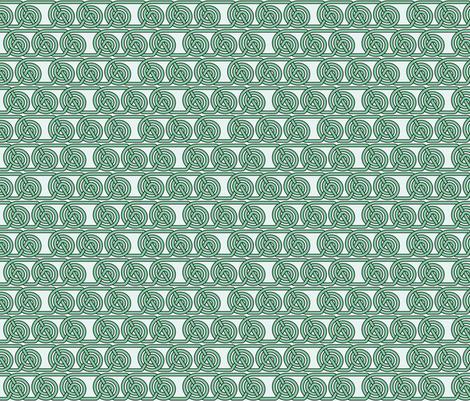 Circle Celtic Knot fabric by studiofibonacci on Spoonflower - custom fabric
