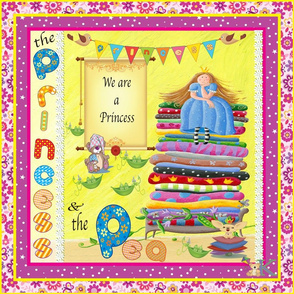The_Princess_and_the Pea pillow_18x18