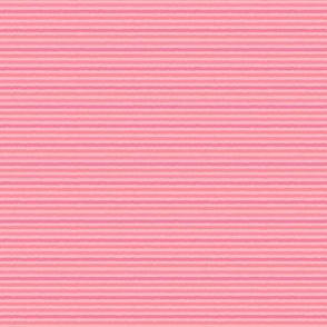 Pink-Coral Tiny Stripes