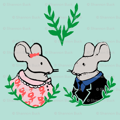 Mr. & Mrs. Mouse