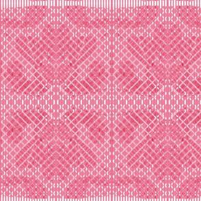 vintage quilt pink