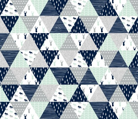 Rmelissa_northern_lights_triangle_quilt_top_buck_head_and_moose-02_shop_preview