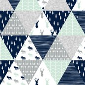 Rmelissa_northern_lights_triangle_quilt_top_buck_head_and_moose-02_shop_thumb