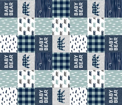 Rfinal__baby_bear__little_man_quilt_tops_dusty_blue_and_navy-05_shop_preview