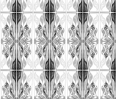 Black_and_white fabric by ruthjohanna on Spoonflower - custom fabric